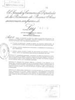 Ley 14449 de acceso justo al hábitat (Promulgada)