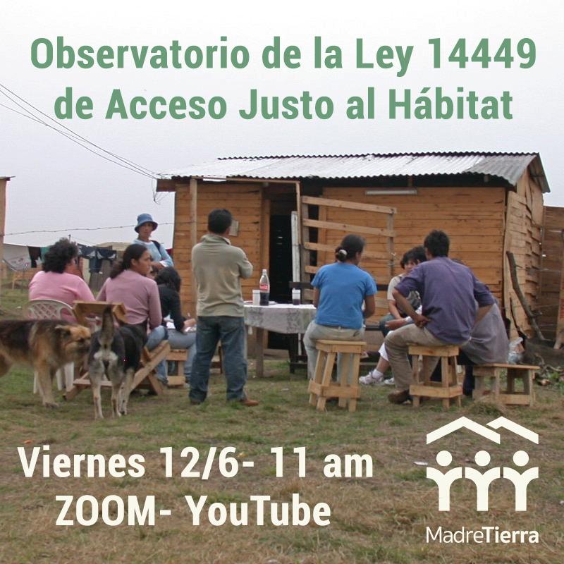 Presentamos el Observatorio de la Ley 14.449 de Acceso Justo al Hábitat
