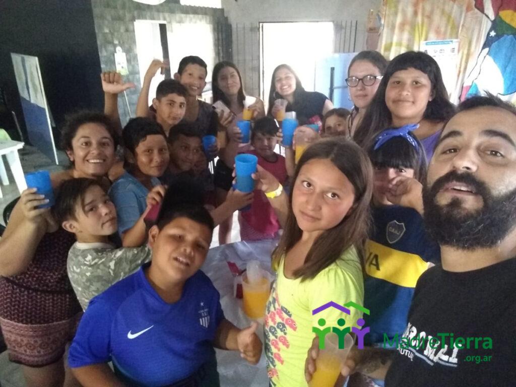 consejo de jóvenes del barrio Los Hornos en Moreno. ultimo encuentro del 2019